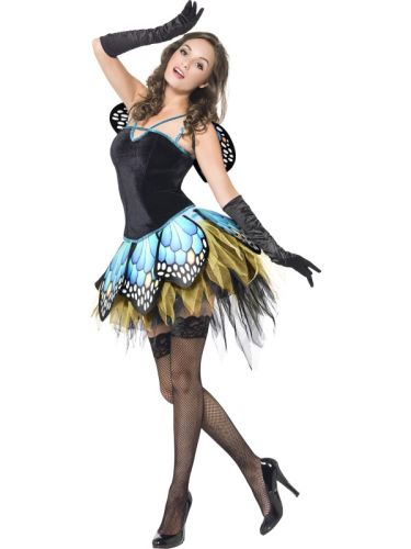 Fever Boutique Butterfly Costume Thumbnail 2