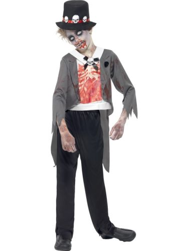 Childs Zombie Groom Costume Thumbnail 1