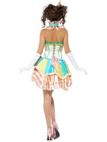 Fever Boutique Vintage Clown Costume Thumbnail 3