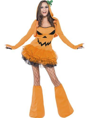 Fever Pumpkin Tutu Dress Thumbnail 2