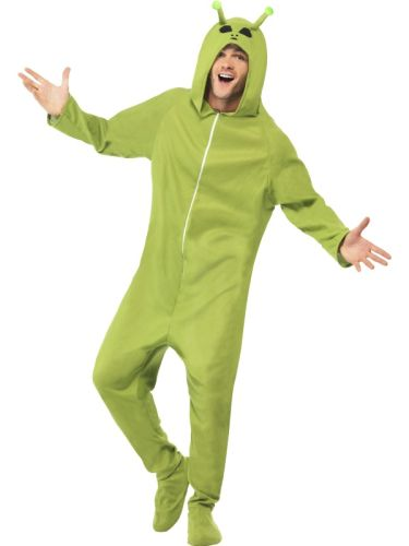 Adult Alien Jumpsuit Costume Thumbnail 1
