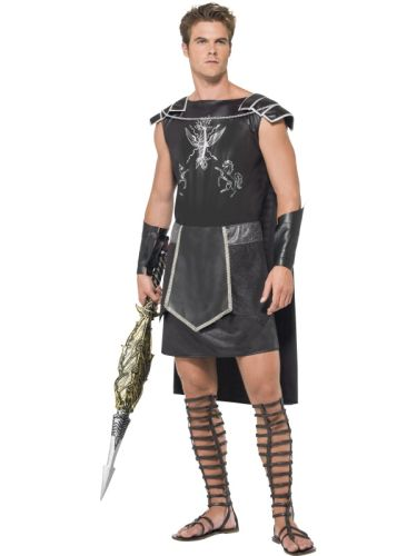 Fever Male Dark Gladiator Costume Thumbnail 1
