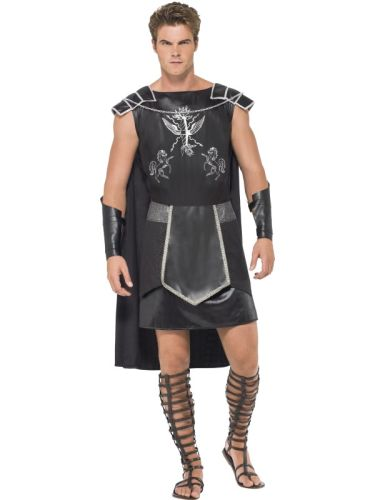 Fever Male Dark Gladiator Costume Thumbnail 2