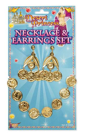 Desert Princess Coin Necklace Set Thumbnail 1
