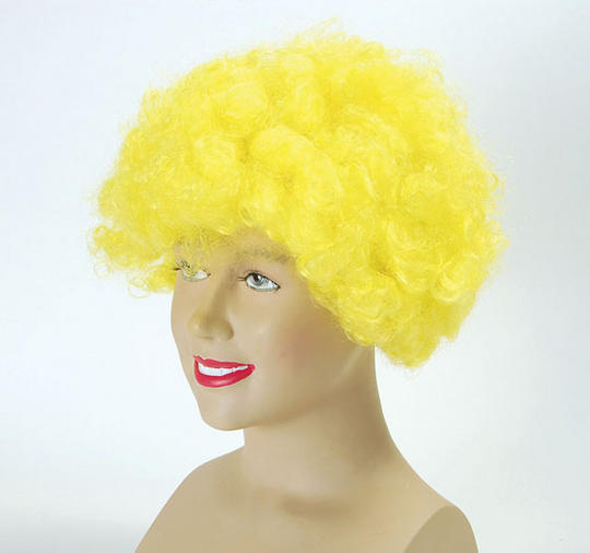 Pop Wig. Budget. Yellow Thumbnail 1