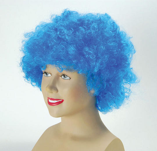 Pop Wig. Budget. Blue Thumbnail 1