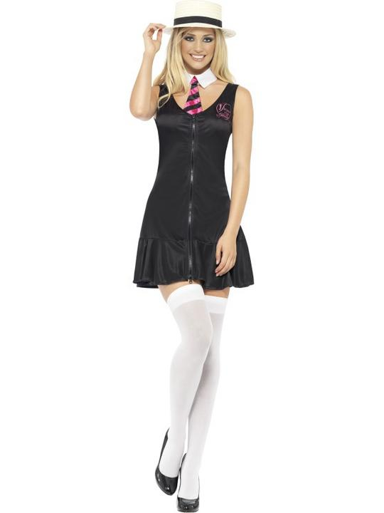 Schoolgirl Dress Fancy Dress Costume Thumbnail 2