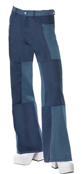 Mens Patchwork Flares Thumbnail 4