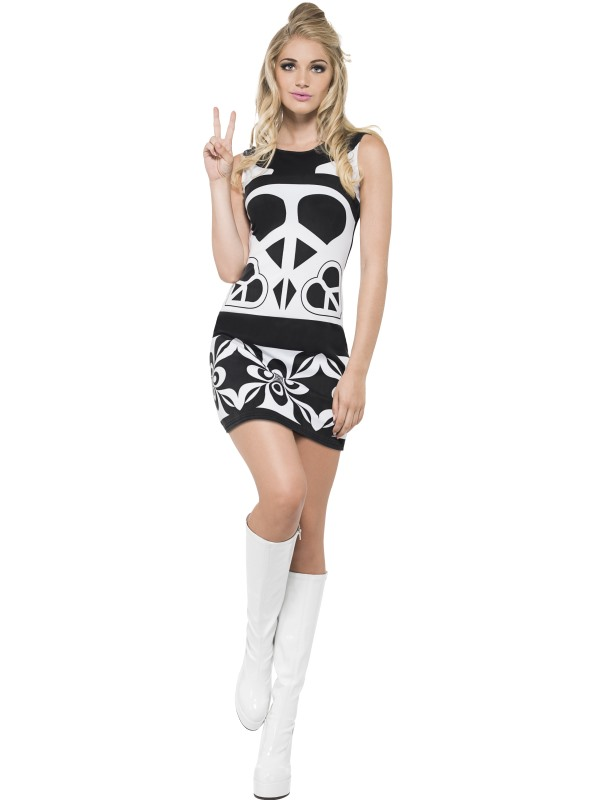 Fever '60s Peace Lover Costume
