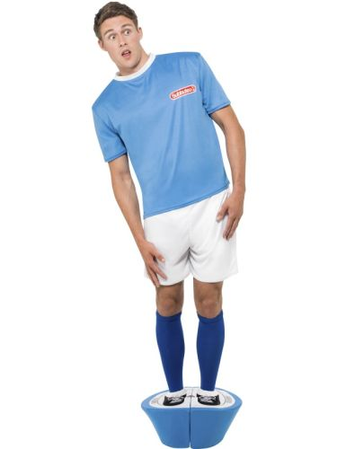 Subbuteo Costume Blue Strip