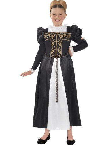 Horrible Histories,Childs Mary Stuart Costume Thumbnail 1