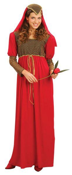 SALE! Adult Medieval Princess Juliet Ladies Fancy Dress Costume Party Outfit