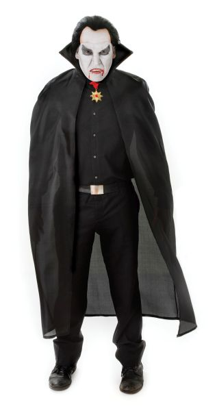 Adult Dracula Cape  Black