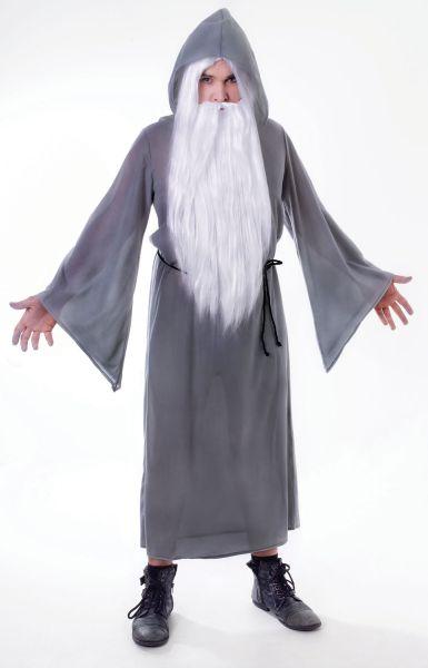 Adult Grey Wizard Cloak