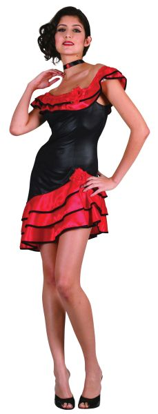 Adult Spanish Lady Costume