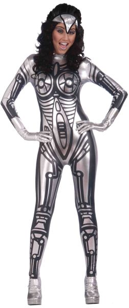 Robot Jumpsuit Female