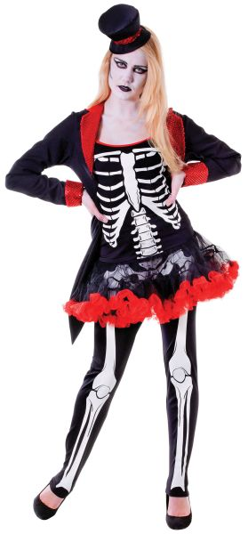 Adult Ms Bone Jangles Costume