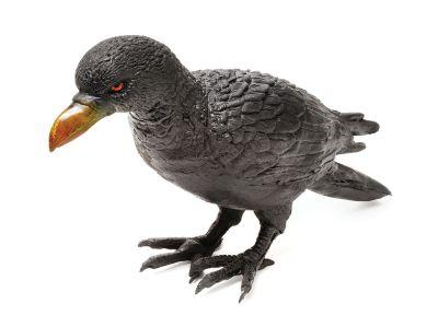 Raven. Rubber