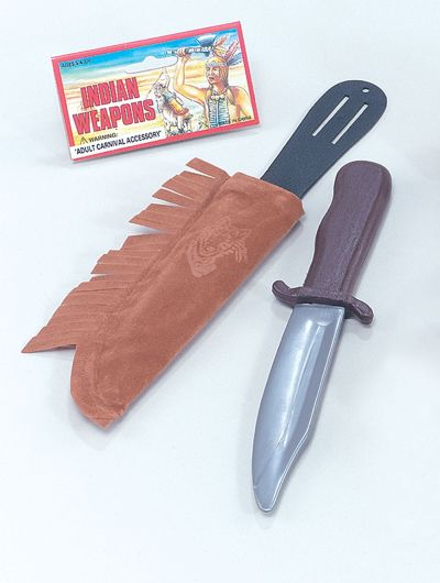 Indian Dagger In Sheath