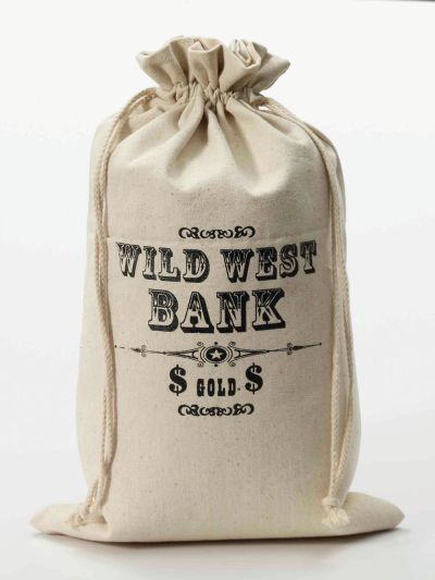 Money Bag. Wild West
