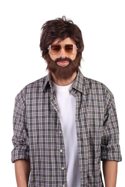 Hangover Wig + Beard