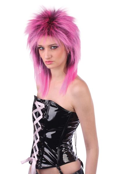 Female Rocker. Pink/Black