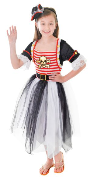 Childs Pirate Princess Costume
