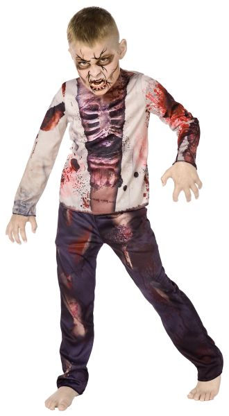 Childs Zombie 3D Costume