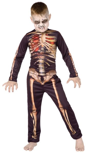 Childs Skeleton 3D Style Costume