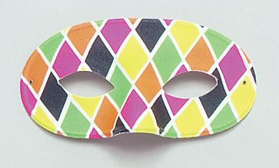 Harlequin Eye Mask Large