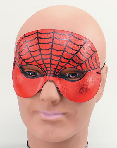 Spiderman Domino Half Face