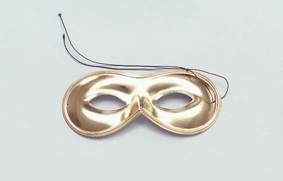 Domino Mask. Gold