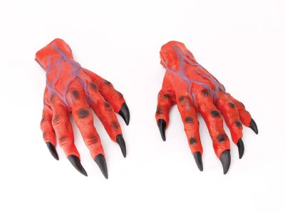 Horror Hands. Red