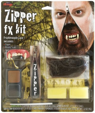 Werewolf Zipper FX Kit