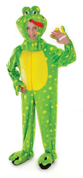 Childs Frog Costume