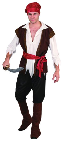 Pirate Man Costume Thumbnail 1