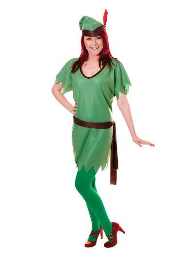 Robin Hood/Elf (Unisex) Costume Thumbnail 3