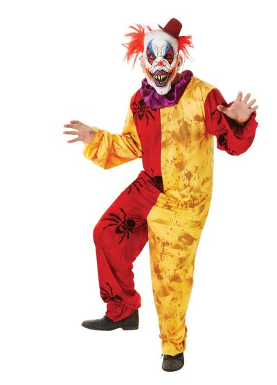 Adult  Horror Clown Costume Thumbnail 1