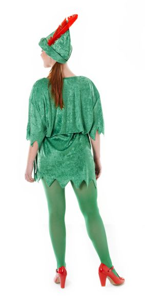 Ladies  Peter Pan Costume Thumbnail 2