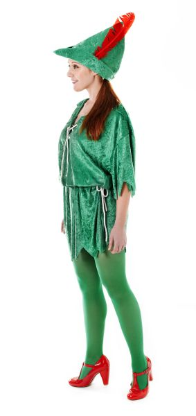 Ladies  Peter Pan Costume Thumbnail 1