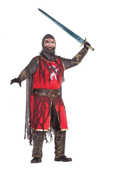 Adult Crusader Skull  Costume Thumbnail 1