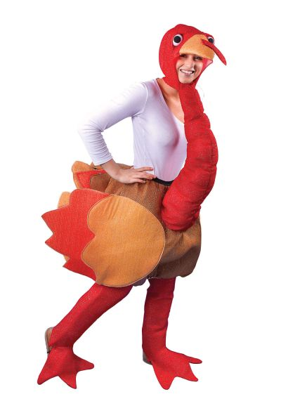 Adult Turkey Costume Thumbnail 1