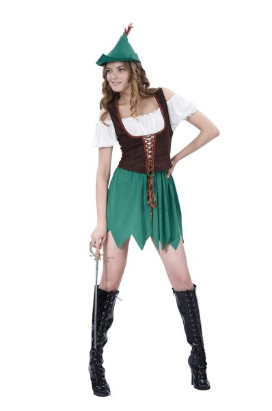 Robin Hood Ladies Costume Thumbnail 1