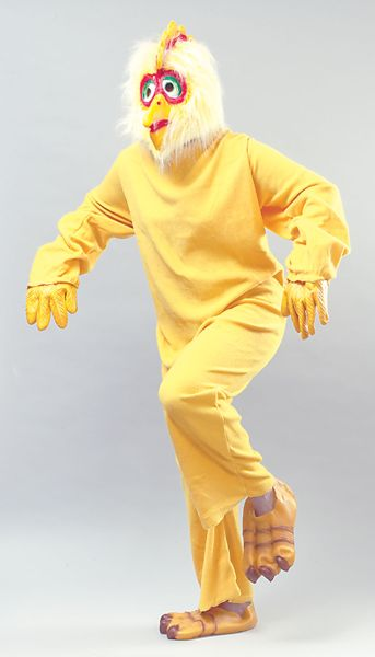 Adult Chicken Budget costume Thumbnail 1