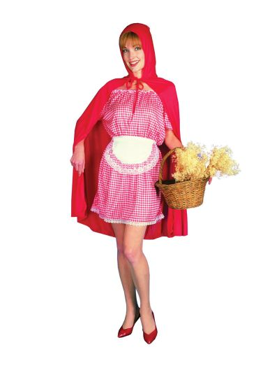 Adult Red Riding Hood Costume Thumbnail 1