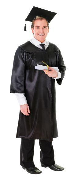 Adults Unisex Graduation Costume Thumbnail 1