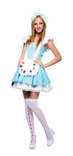 Wonderland Girl Sexy Costume Thumbnail 1