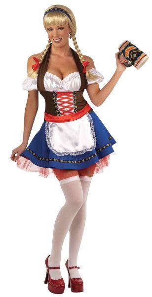 Oktoberfest Fraulein Sexy Costume Thumbnail 1