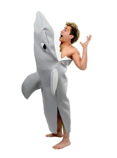 Adult Shark Attack Costume Thumbnail 1