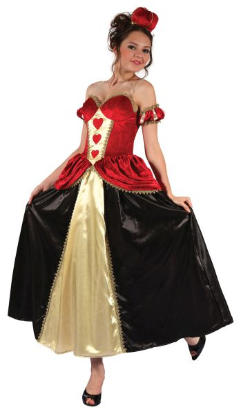Queen of Hearts Costume  Thumbnail 1